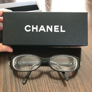 Authentic CHANEL Optical Frames (black)